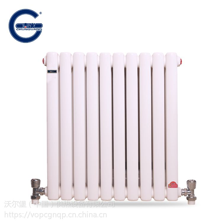 春光牌 钢制暖气片 钢2柱散热器 6030 中心距1600 批量供应