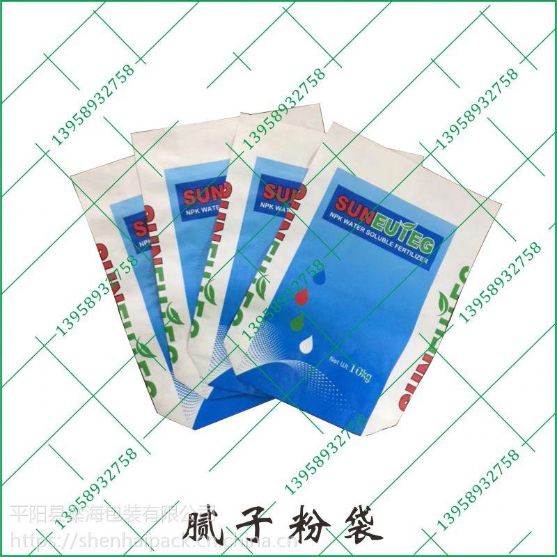 生产编织袋材料牛皮纸材料腻子粉外包装袋