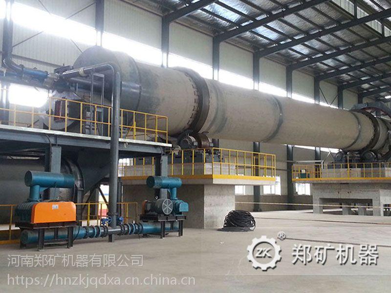 郑矿机器厂家直销高效节能污泥陶粒回转窑