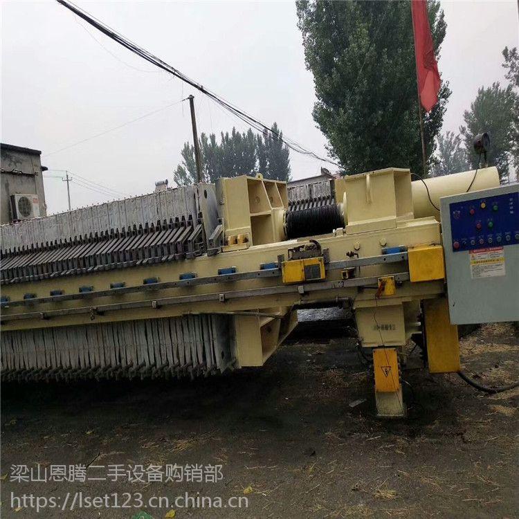 梁山恩腾常年回收二手压滤机 二手10-300平方京津压滤机