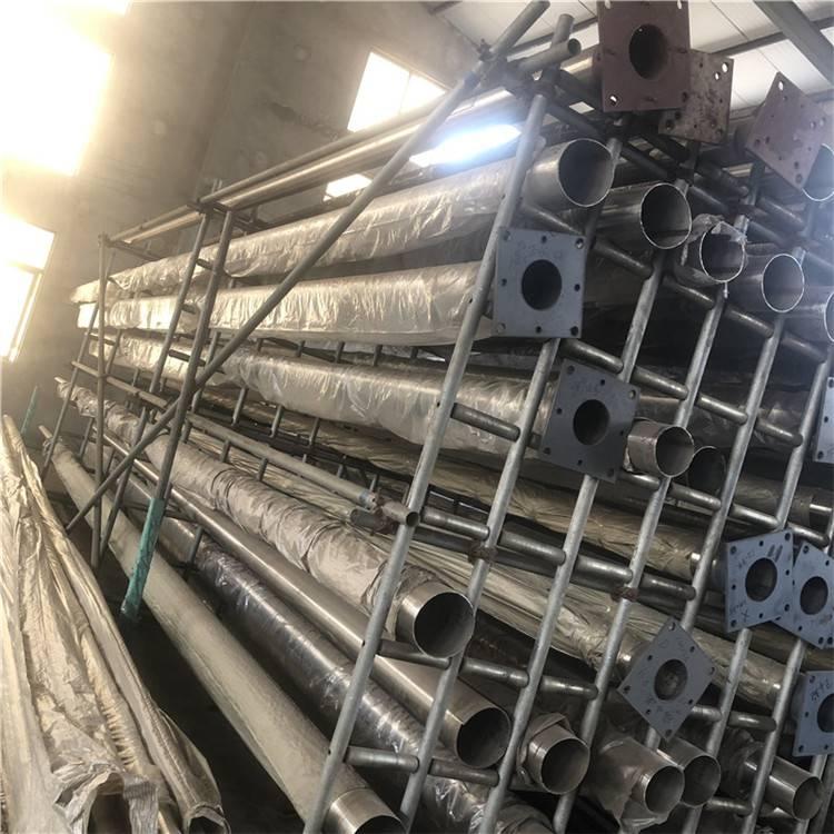 昆山金聚进三节不锈钢升旗杆制造厂家供应