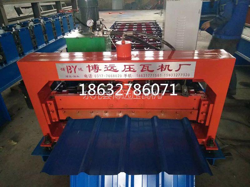 全自动900型彩钢压瓦机@墙面板900型彩钢压瓦机生产厂家