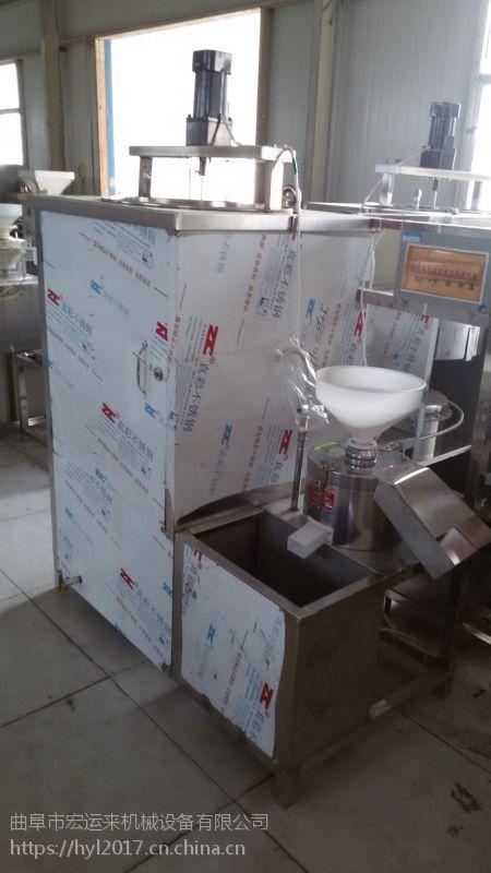 巨野有卖豆腐机的吗 家用磨豆腐机器 新型全自动豆腐机视频
