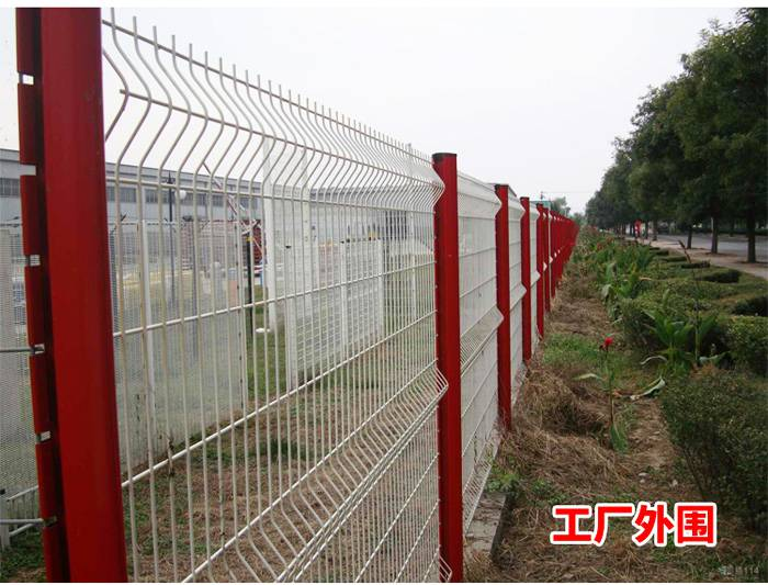 三角折弯围栏厂家 珠海边框防护栏 三角折弯防爬护栏网