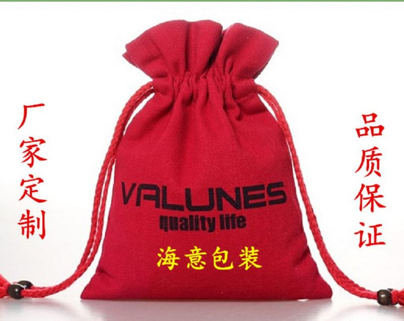 厂家定制帆布袋 帆布束口袋 运动产品包装袋 米袋 可印logo