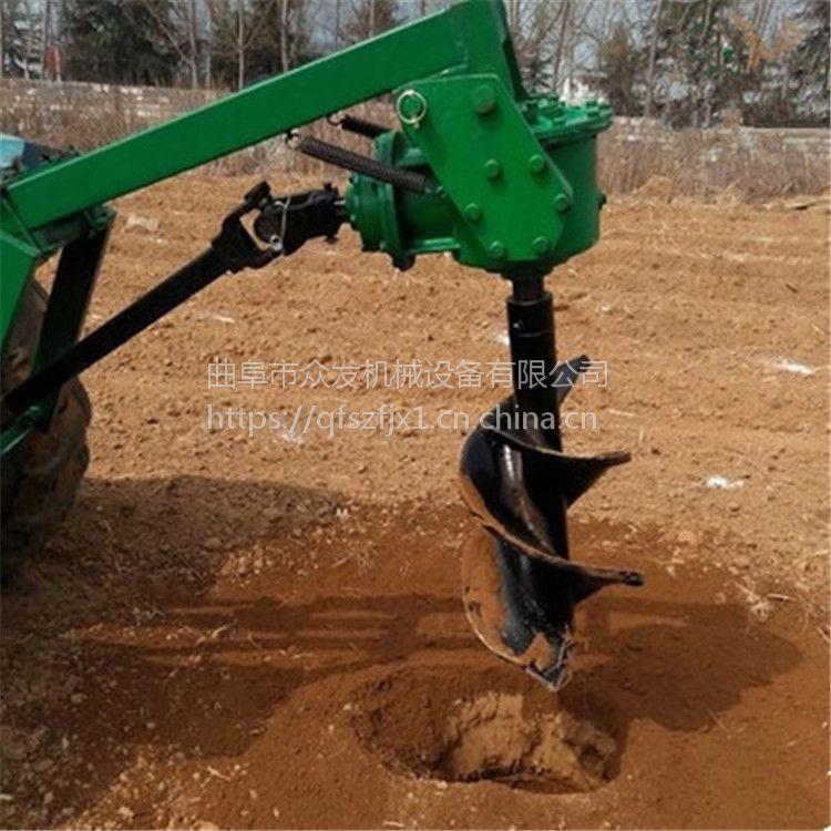 果园果树植树挖坑机 小型家用手提式刨坑机 电线杆钻眼机
