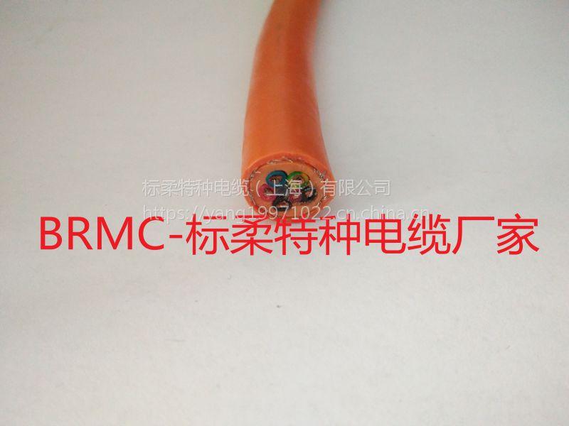 柔性坦克链电缆 高柔性耐弯曲拖链电缆