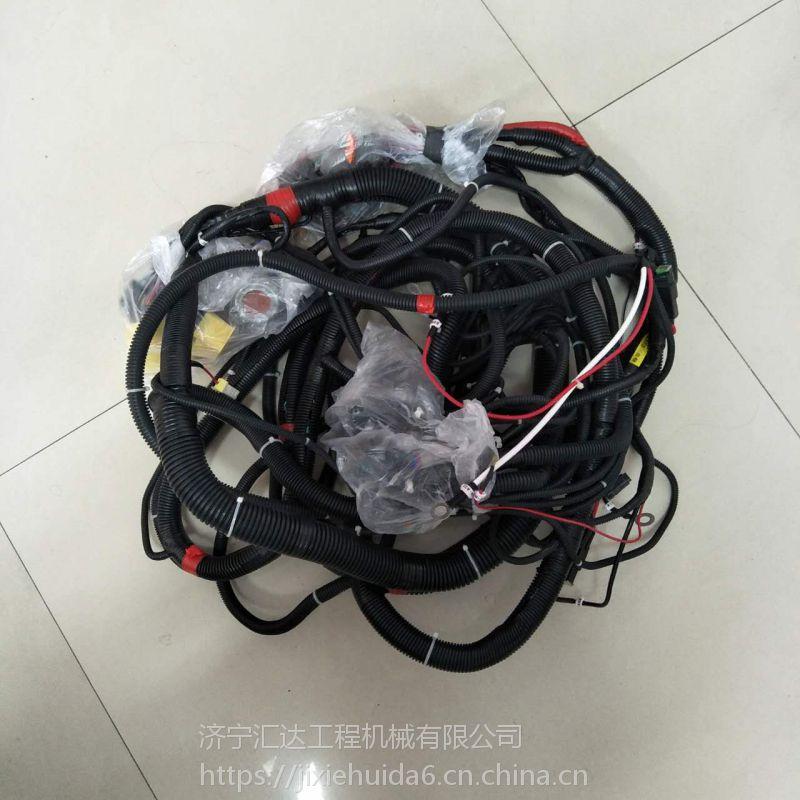 小松PC130-7驾驶室线束 小松挖机驾驶室内外线束大全 济宁汇达工程机械