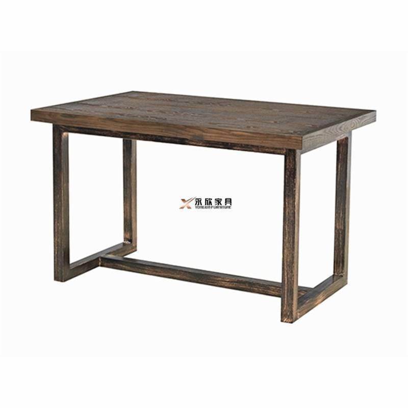 3D打印彩色桌面金属主题餐吧桌子订做