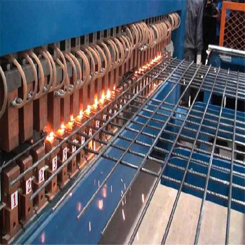义乌钢结构钢筋网厂房铺设——冷轧带肋焊接钢筋网出自一诺丝网厂