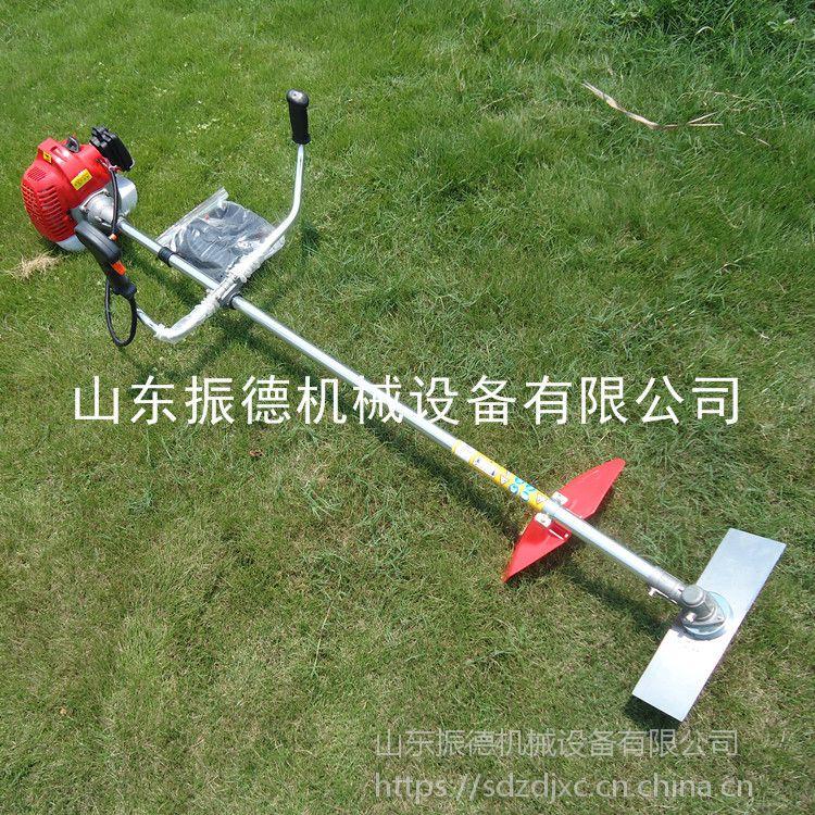 两冲程小型背负式割草机 绿化园林割草机 小麦收割机家用 振德