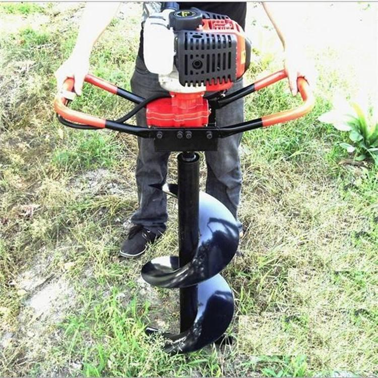 杨树柳树栽种百亩地种植挖坑机