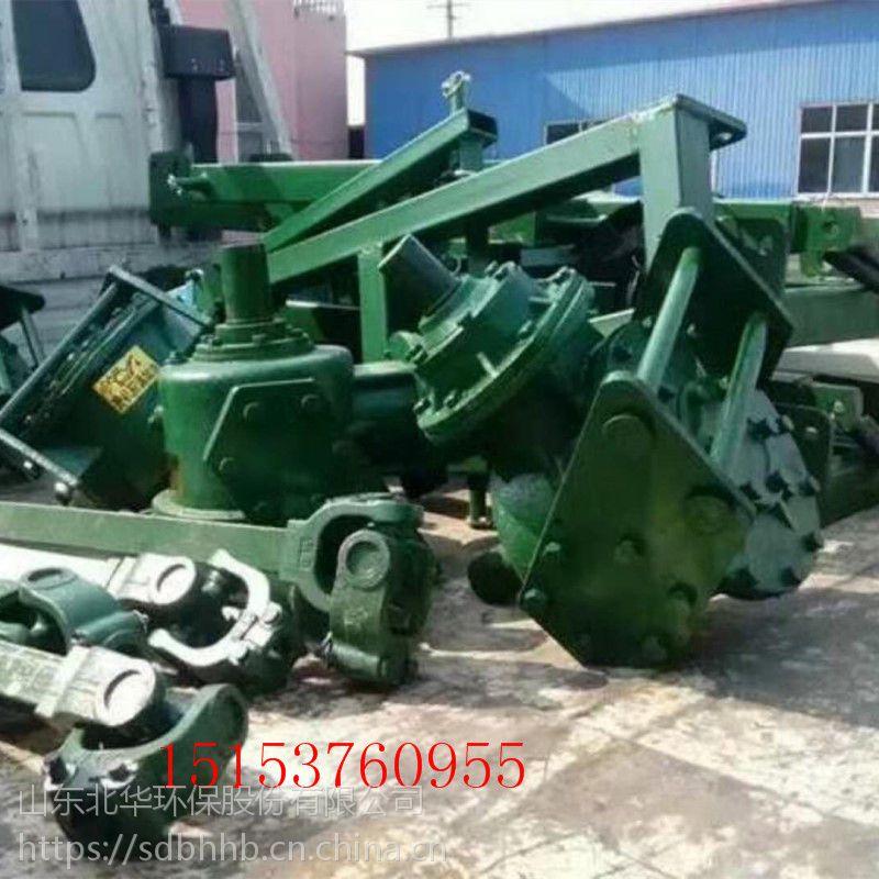 黑龙江正品推荐冻土层挖坑机设备 农用拖拉机带挖树坑机 北华厂家直销