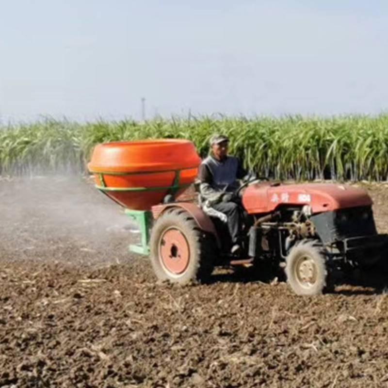 旭阳直销农田扬肥器玉米小麦撒肥机四轮后置化肥抛撒机草种撒播机