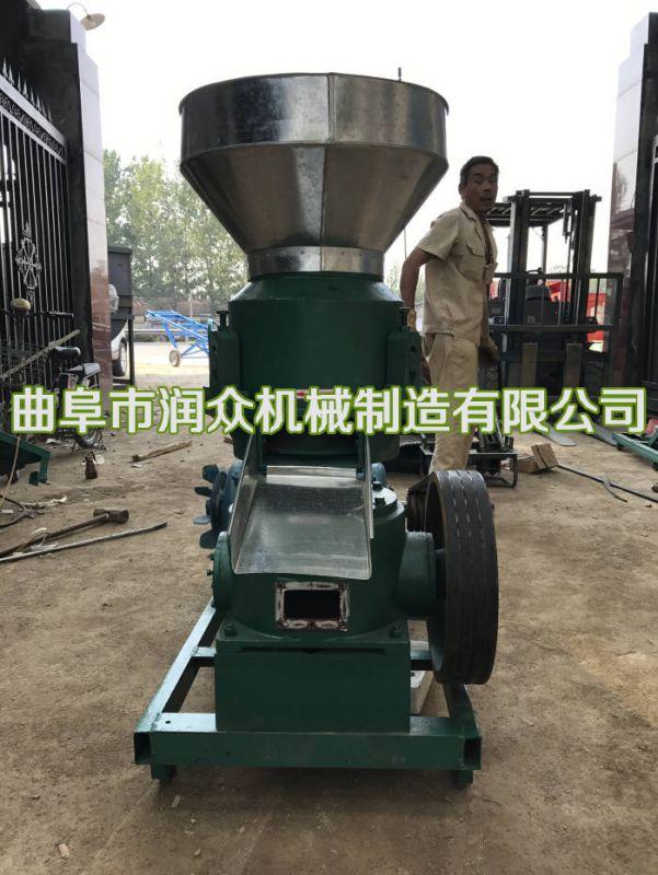 畜禽加工饲料颗粒机 草粉加工饲草颗粒机 柴油动力制粒机