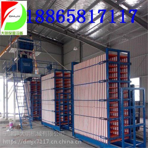 大明保温板机械设备价格咨询挤塑板设备价格