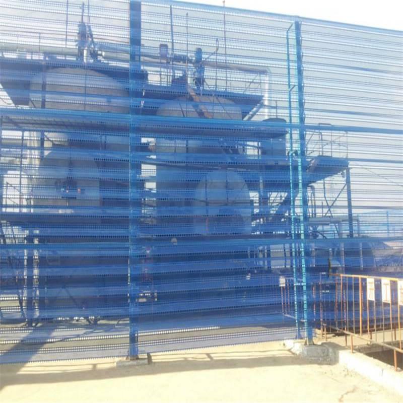 搅拌站防风抑尘网 水泥厂挡风抑尘板 储煤场防风抑尘网