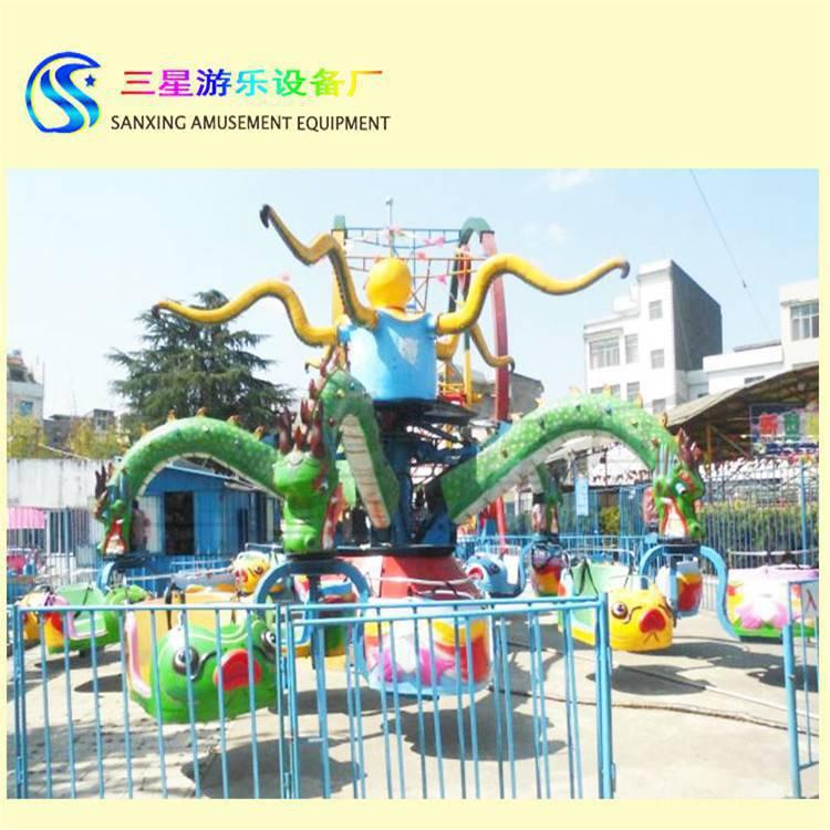 中型户外游乐设备大章鱼游乐设备价格