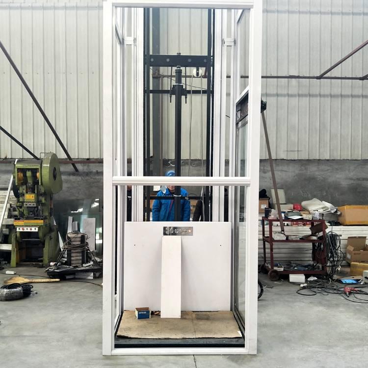 专业定做固定式电动升降机 液压残疾人升降机 简易家用电梯