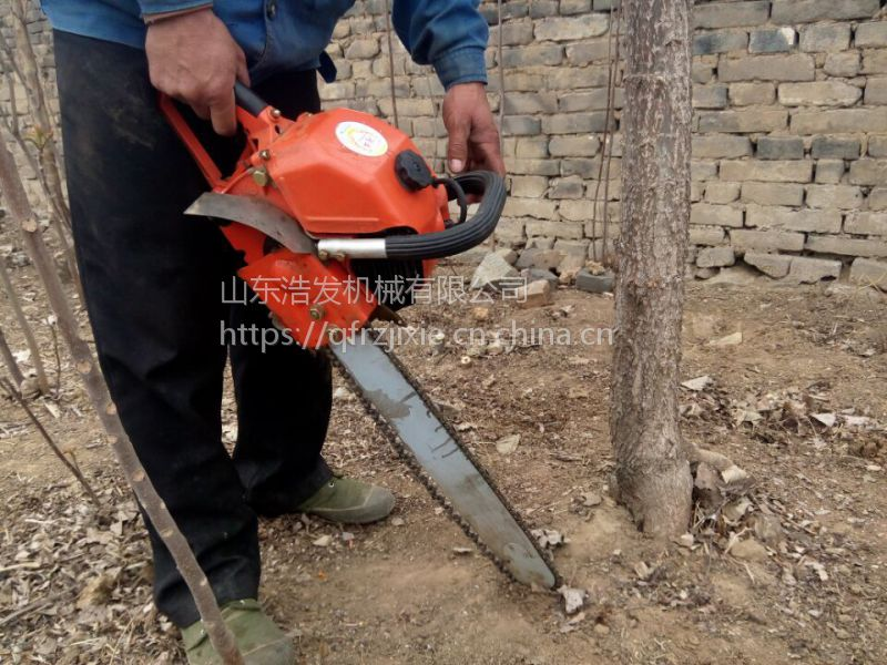 岳西县苗圃断根挖树机 汽油挖树机 大马力移树机 浩发