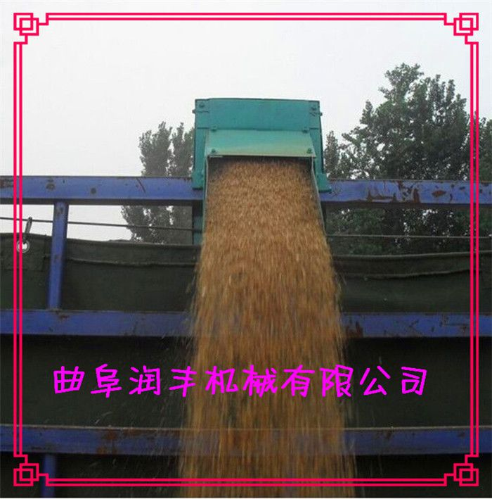 多功能大豆提升吸粮机 大型汽油车载式吸粮机润丰