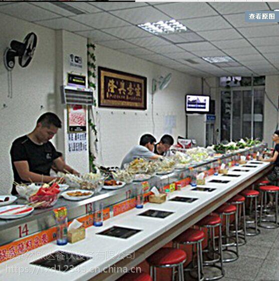 旋转小火锅餐饮设备 自动传送小火锅