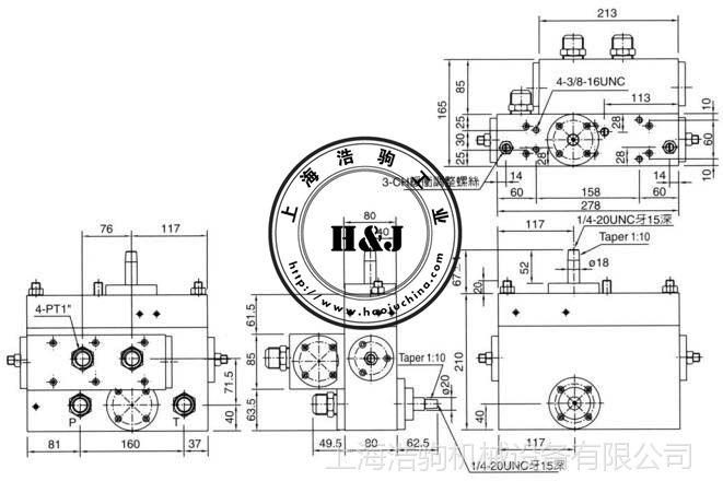 SGV-08系列机械式方向阀SGV-08-125台湾康百世KOMPASS