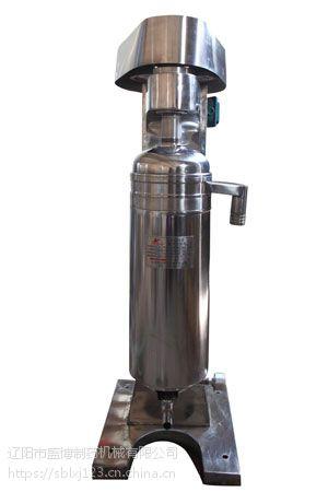 GQ75型管式分离机整机质保三年 易损件保修一年