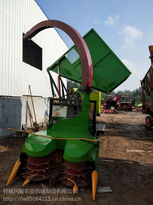 新款履带式大型玉米秸秆青储机 牧草饲料粉碎收割机