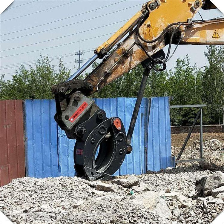 日立130多功能液压夹具 机械式夹木器 厂家挖机型号定做