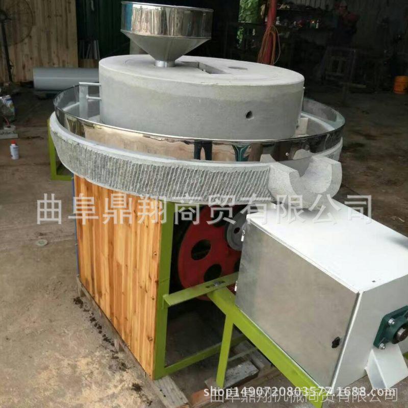 加工定制电动石磨 玉米电动石磨磨粉机 面粉石磨机厂家直销