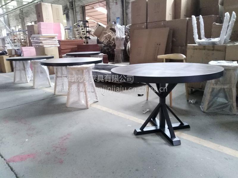 供应上海人家中餐厅家具 中式餐厅实木桌椅定制
