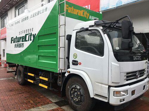 998科技新型吸污车-环保吸粪车-无害化粪便淤泥处理设备3.0L