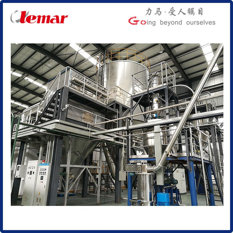 常州力马-工业高含盐废水喷雾干燥机LPG-1000、立式喷干塔生产厂家