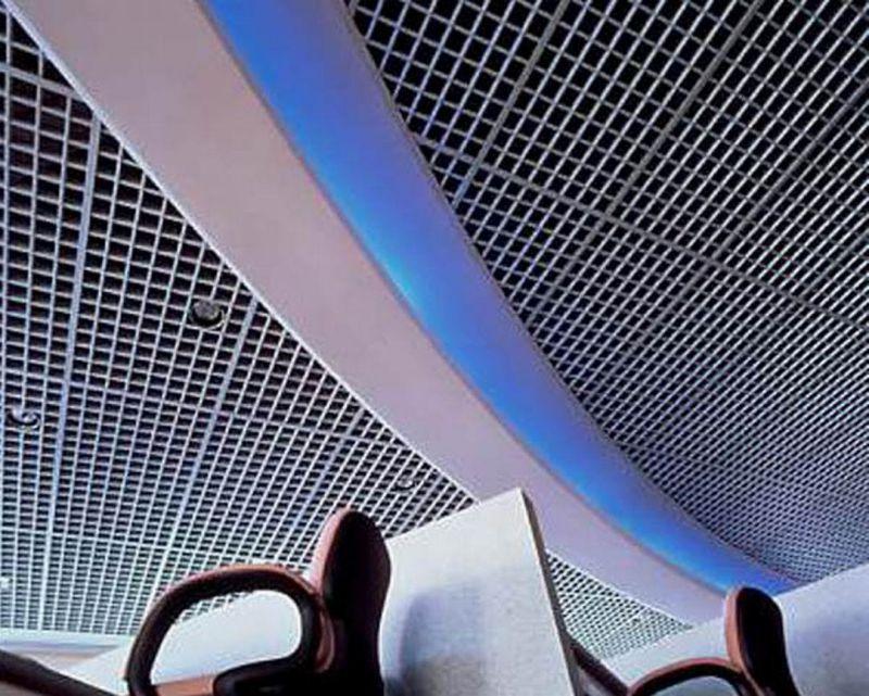 广州德普龙塔型铝格栅安装简单价格合理欢迎选购