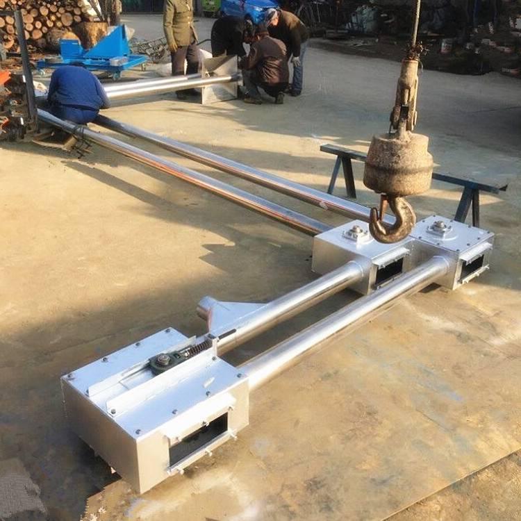 非标定制青海石英沙专业管链输送机L8