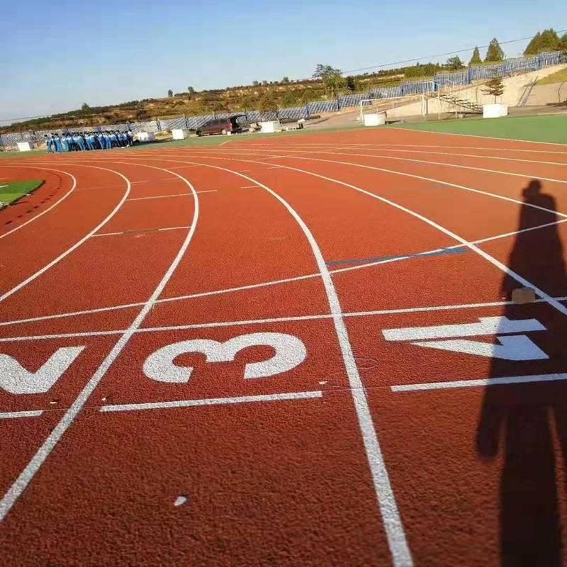 兰州塑胶跑道施工销售商 奥博幼儿园运动跑道诚信经销