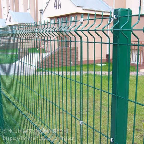 30年老厂家大量现货供应高速双边丝护栏网