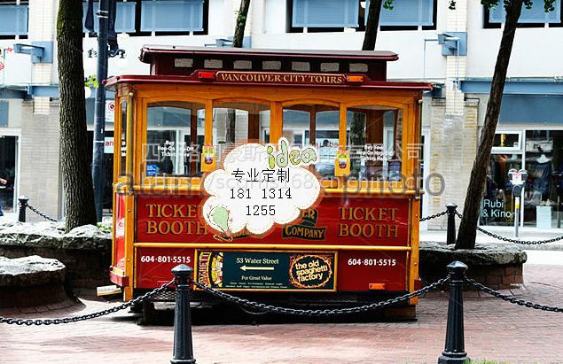 贵州景区售货车 特产仿古售货亭 中式风格移动售卖亭 售票亭成都厂家设计