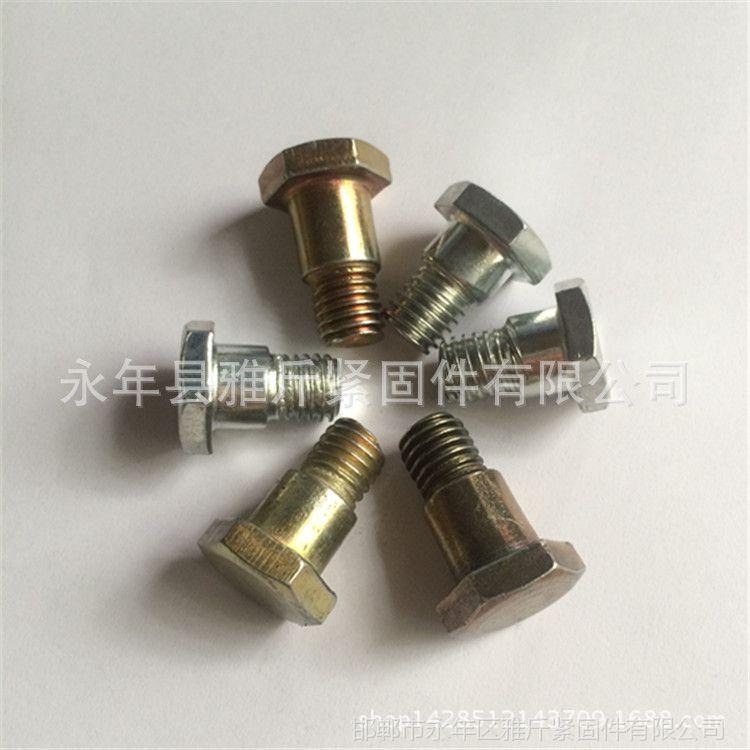 专业生产高品质 台阶螺栓8*55