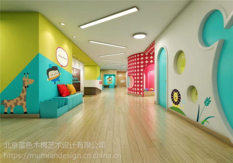 关于幼儿园装修中环保材料的使用,蓝色木棉告诉您,镇江幼儿园室内装修设计