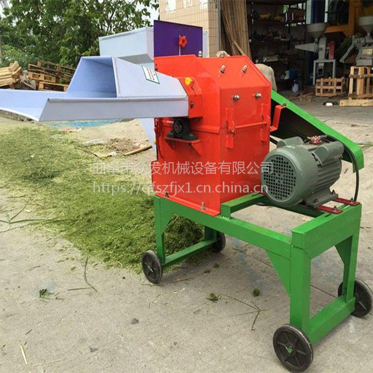 小型多功能青贮铡草机 大型玉米秸秆铡草粉碎揉丝机