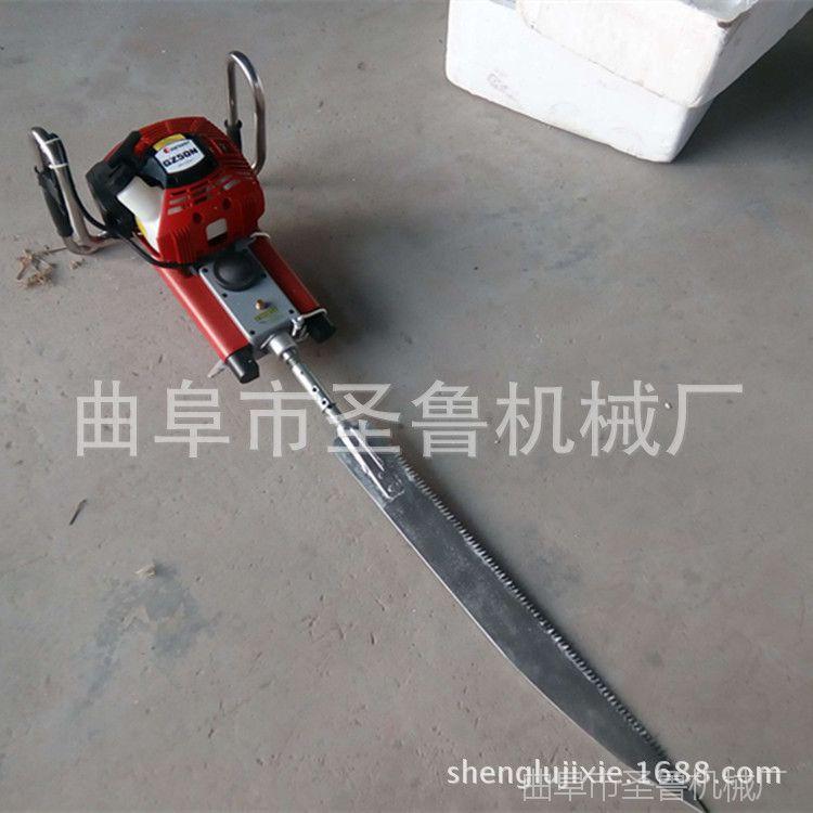 优质锯齿起树机 快速入土挖树机 圣鲁汽油挖树机