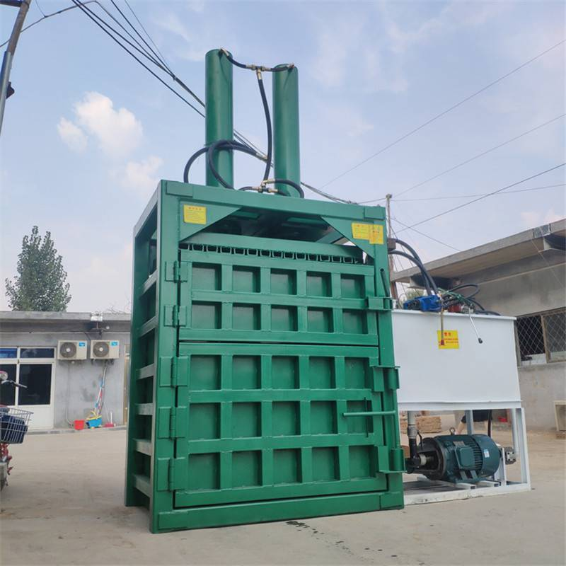 废旧纸箱打包机 富兴全自动矿泉水瓶打包机 大黄豆挤扁机哪里有卖