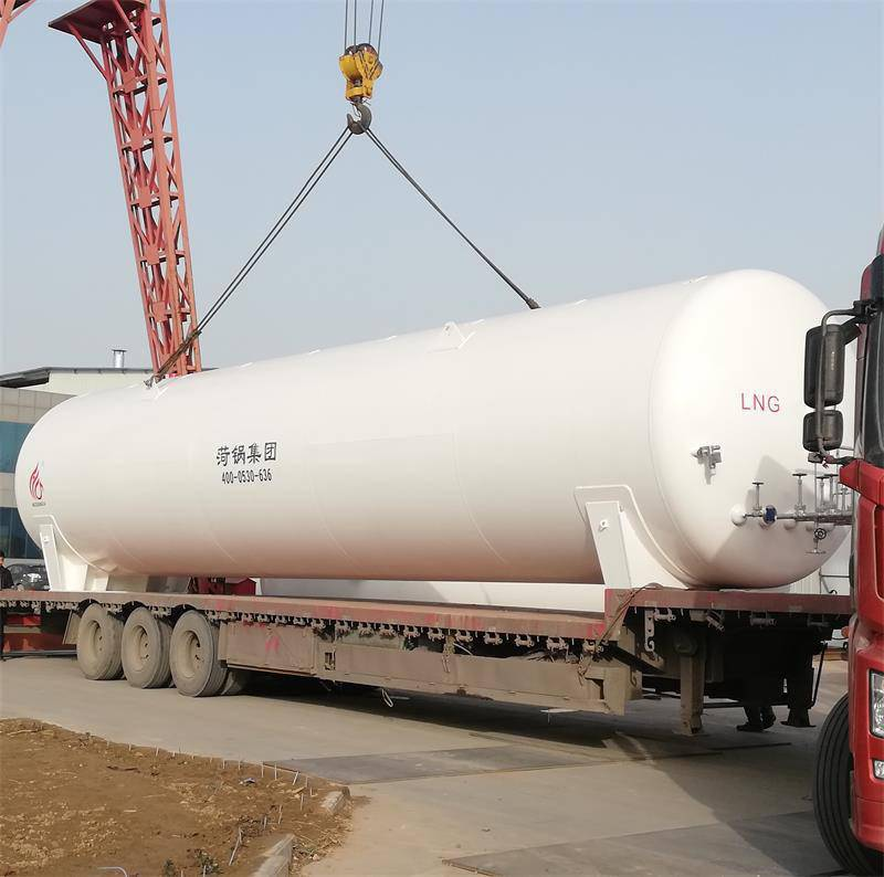 黄骅市50立方LNG储罐热销型号,50立方液化天然气储罐参数报价,菏锅