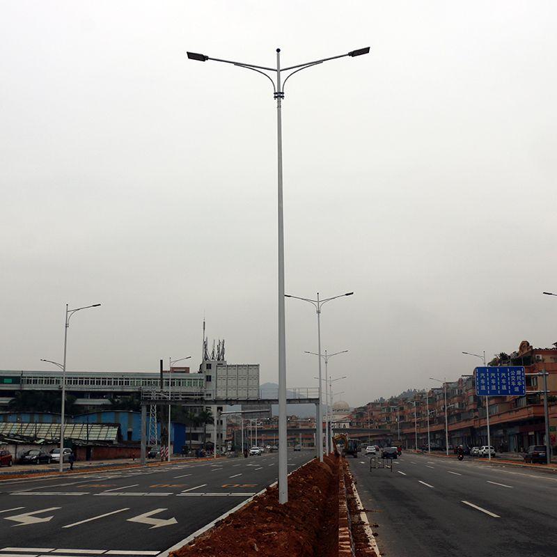 珠海市新农村灯柱配套 街道路灯***低配置 双向LED灯杆哪里卖