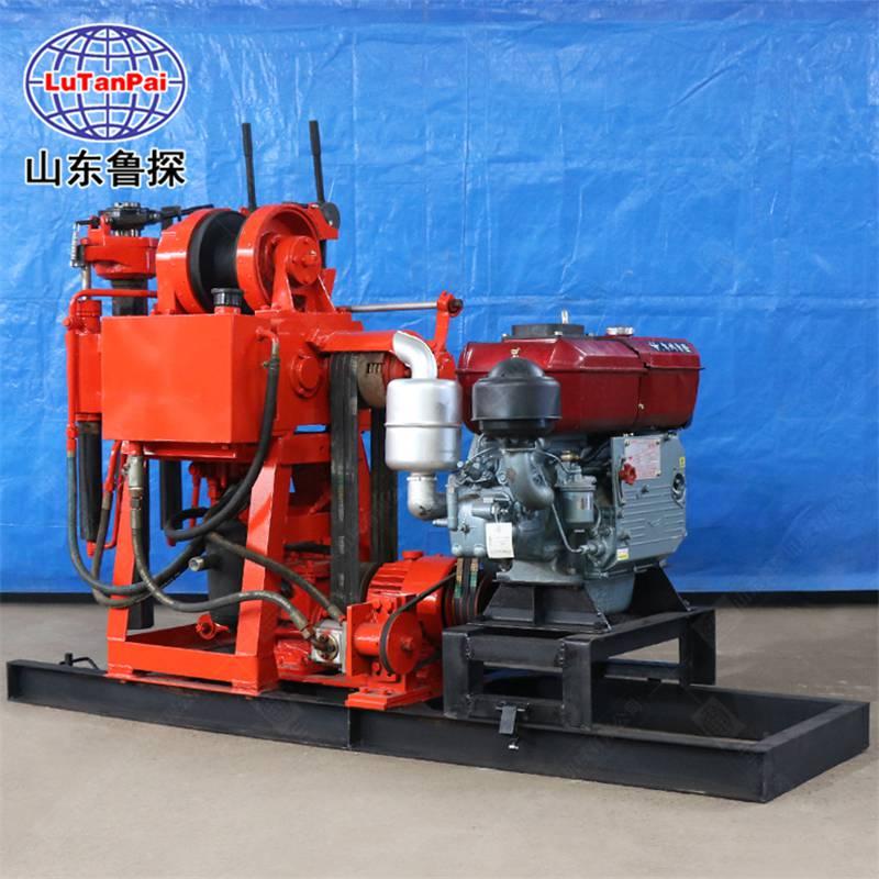 山东鲁探XY200液压勘探钻机取样钻探机岩心回转式钻机