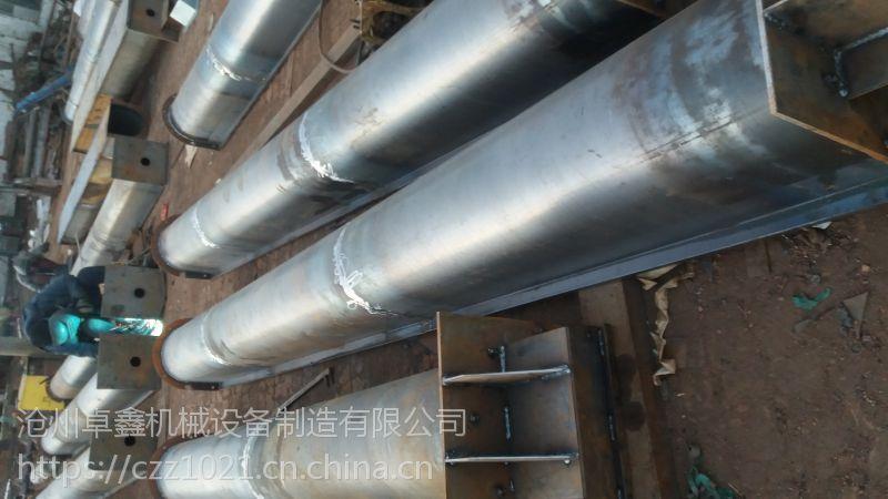 无轴螺旋输送机环保性能好-卓鑫机械输送厂家