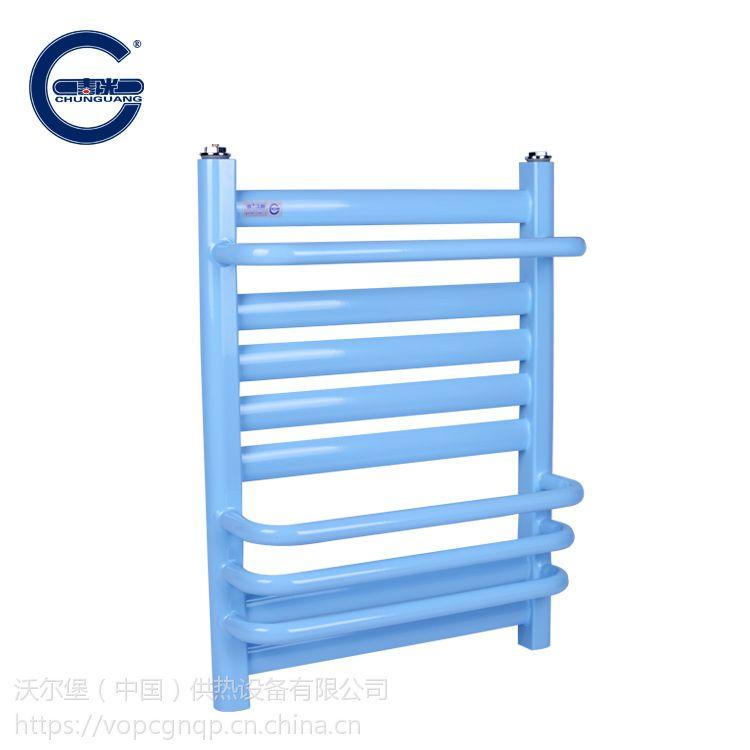 【春光】7+4 钢制小背篓 家用新型采暖器 钢 壁挂式暖气片 批量供应