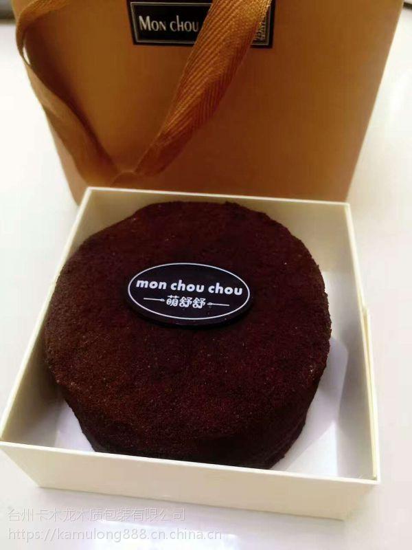 卡木龙 天然木质 高档食品包装盒 绿豆糕烘培产品木质蛋糕包装盒子批发